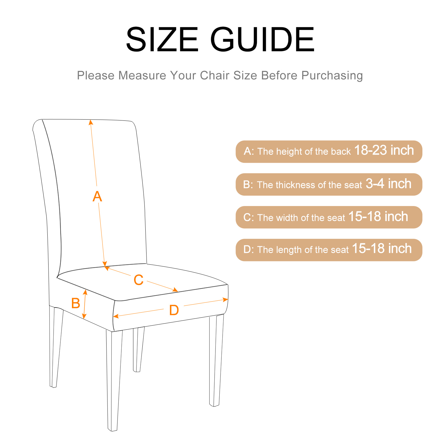 Fine Details About Stretch Dining Chair Cover Removable Slipcover Washable Banquet Furniture New Creativecarmelina Interior Chair Design Creativecarmelinacom