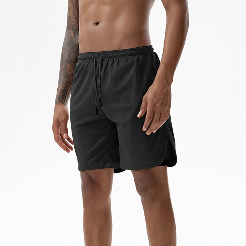 Men/'s 2 in 1 Running Sports Shorts Quick Drying with Built-in Pocket S-3XL UK