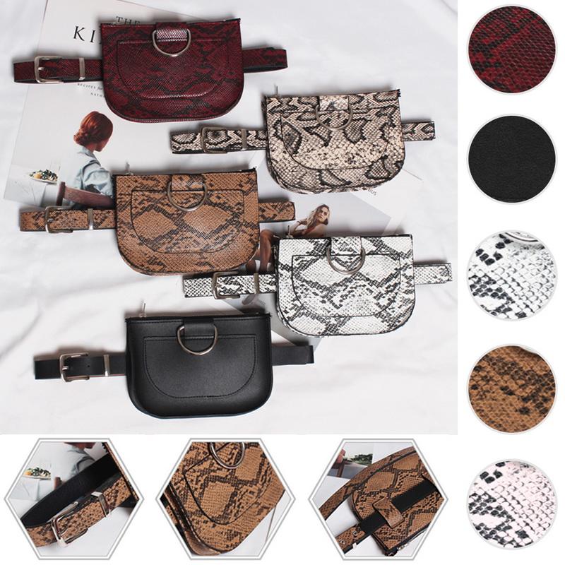 Fashion Women Waist Fanny Pack Belt Bag Pouch Travel Hip Bum Bag Small Purse UK