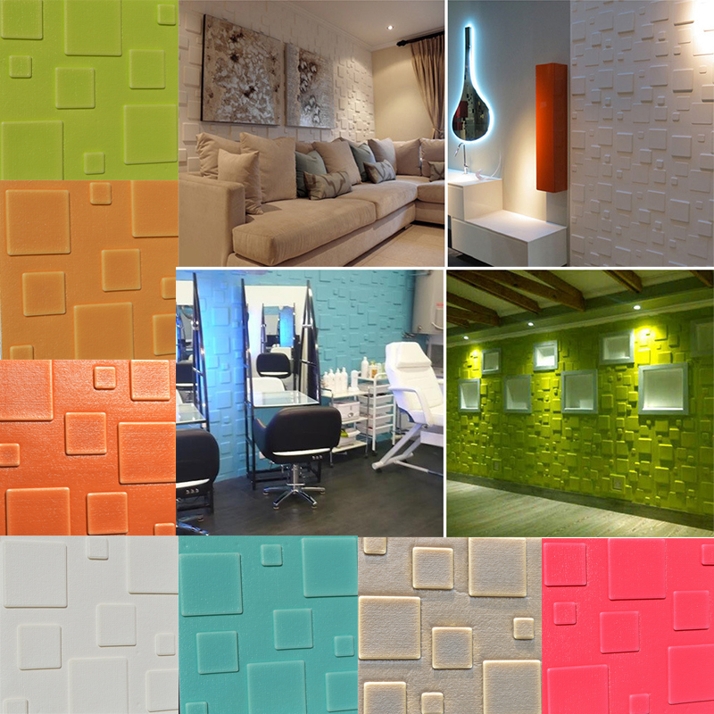 Details About Pe Foam 3d Brick Wall Sticker Self Adhesive Diy Wallpaper Panel Home Room