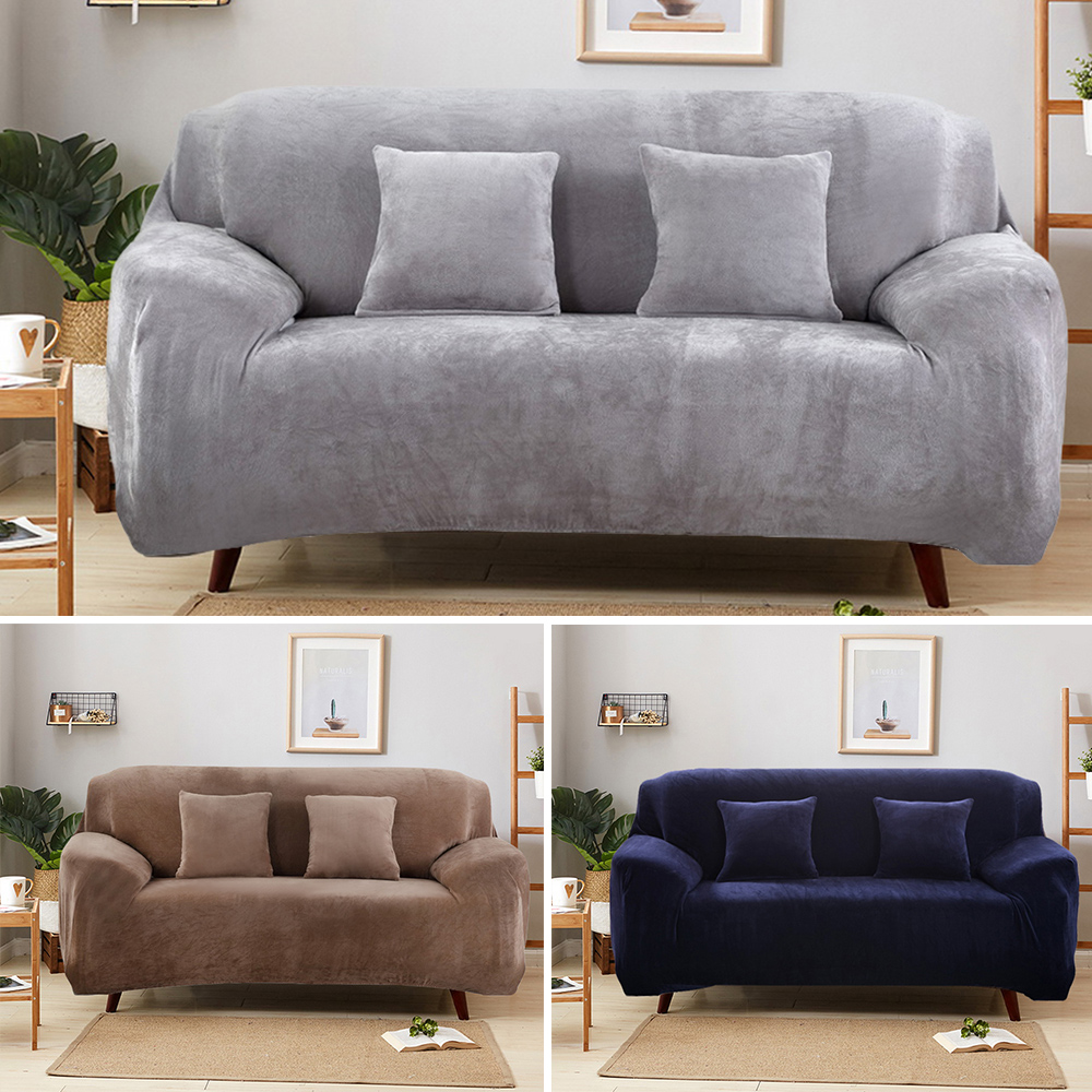 Easy Fit Sofa Slipcover Stretch Protector Soft Couch Cover