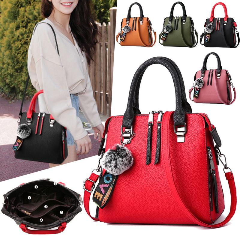 Ladies Designer Tote Shoulder Raised Code Handbag Leather Work Bag women bag