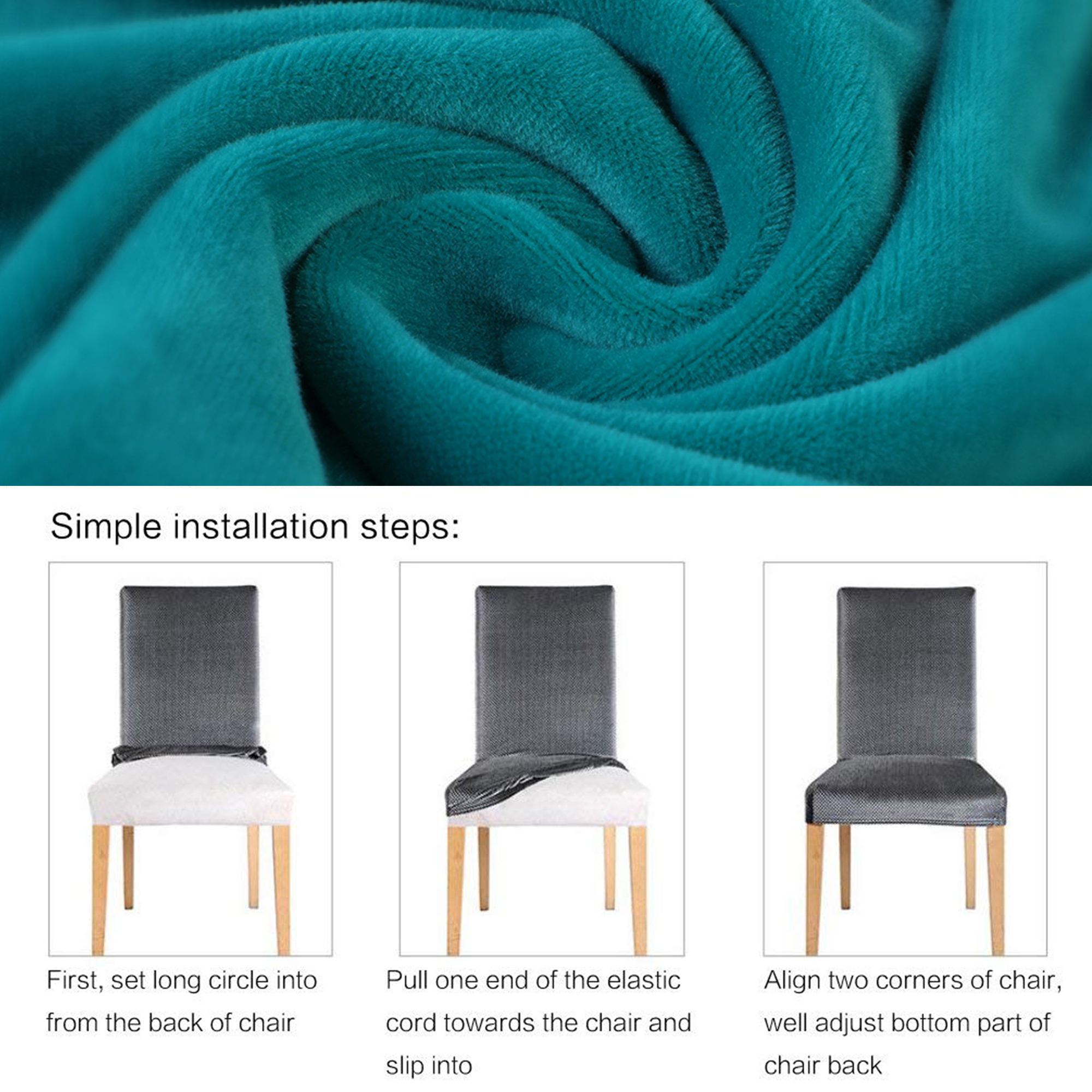 Superb Loose Armchair Covers Dining Chair Covers 1 2 4 6Pcs Wedding Andrewgaddart Wooden Chair Designs For Living Room Andrewgaddartcom