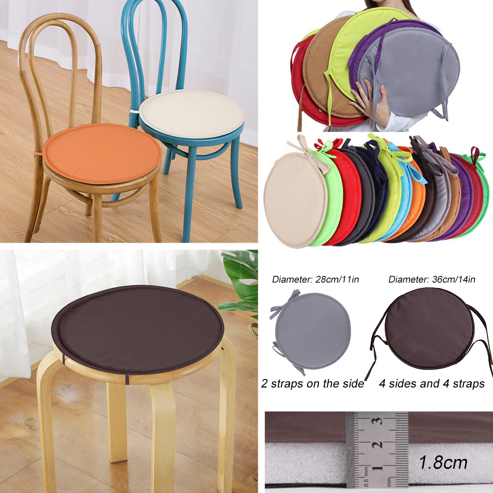 Rose Round Soft Chair Pad Seat Cushion Fashion Seat Pillow Chair Cushions Pads Kitchen Dining Chair Cushions Sofa Armchairs Wheelchair Back Chair Cover Pillow Cushion Cover Office Home Decor Grey