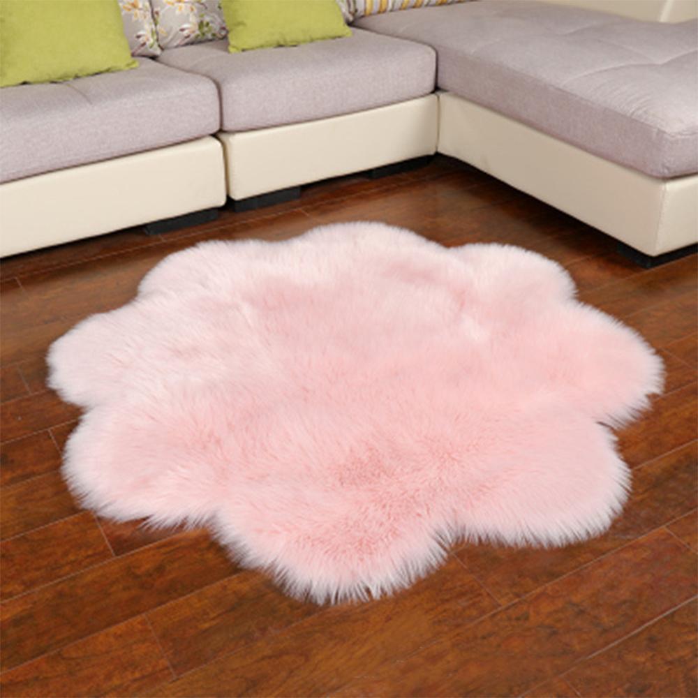 Fluffy Rugs Anti Skid Rug Area Shaggy
