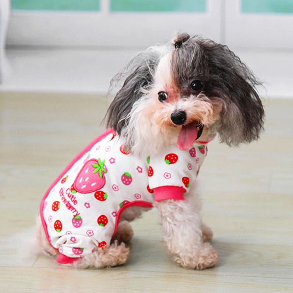 S WIDEN ELECTRIC Pet Dog Clothes Pajamas Coat Jumpsuit,3color 4 Sizes