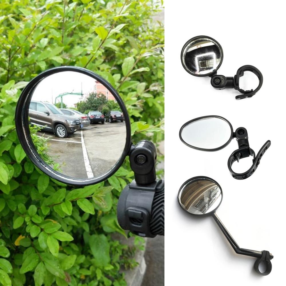360° Adjustable Bike Handlebar Motorcycle Rearview Mirror Bicycle Glass Looking