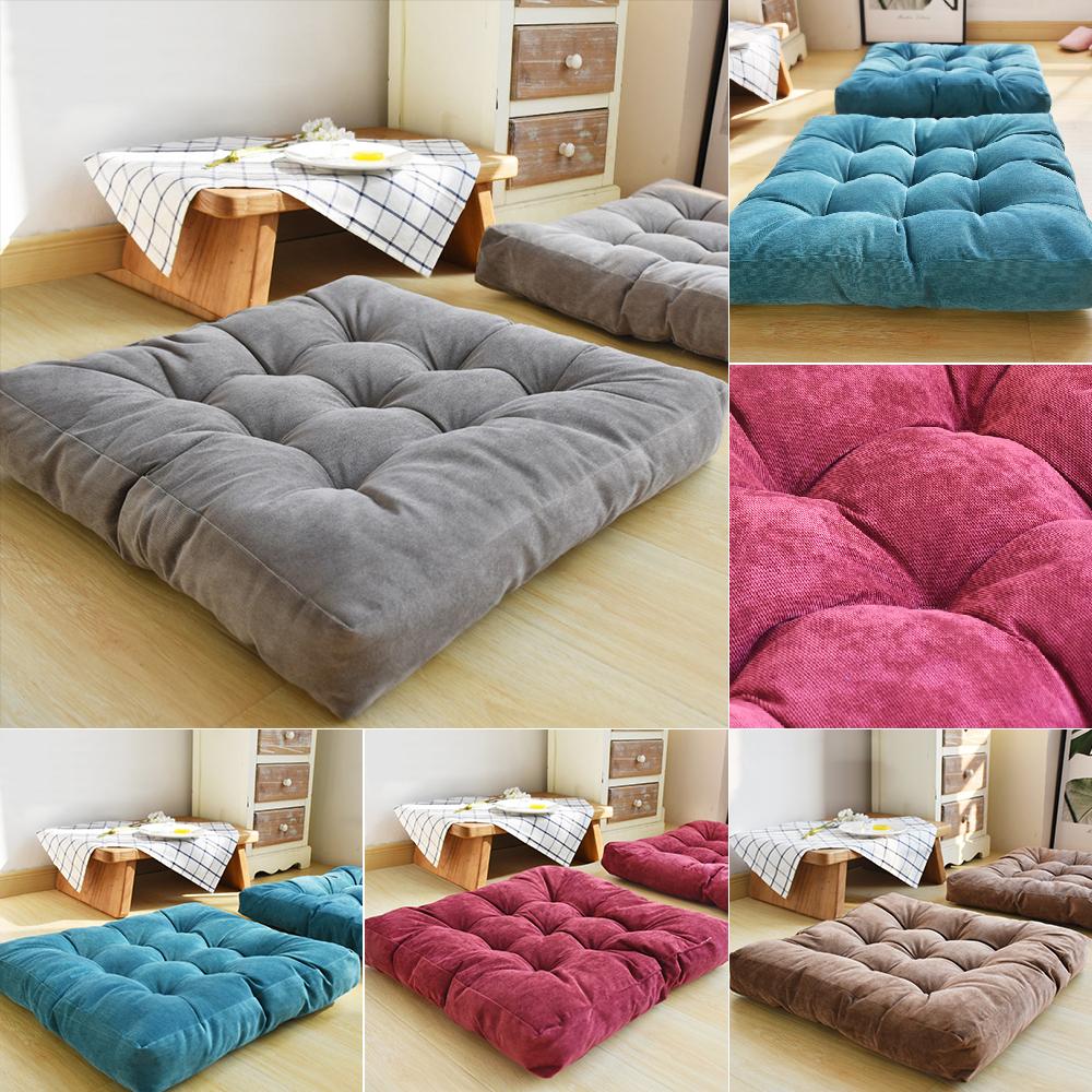 Sofa Chair Corduroy Seat Cushions Floor
