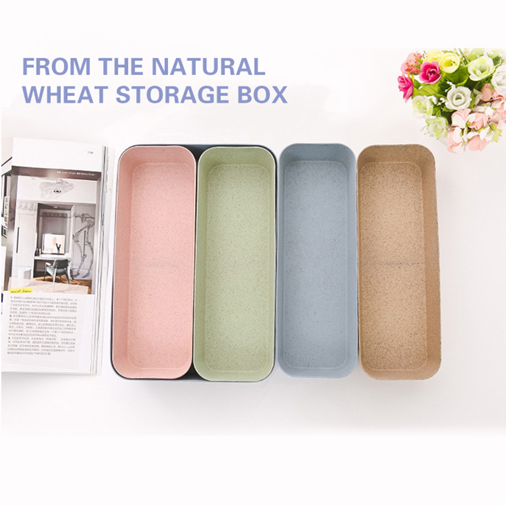 Home Storage Boxes New Degradable Material Storage Divider Kitchen Drawer Storage Tray Organizer UK Home Storage Solutions