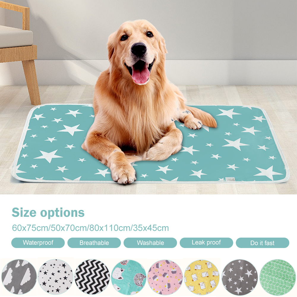 Washable Reusable Dog Puppy Pad