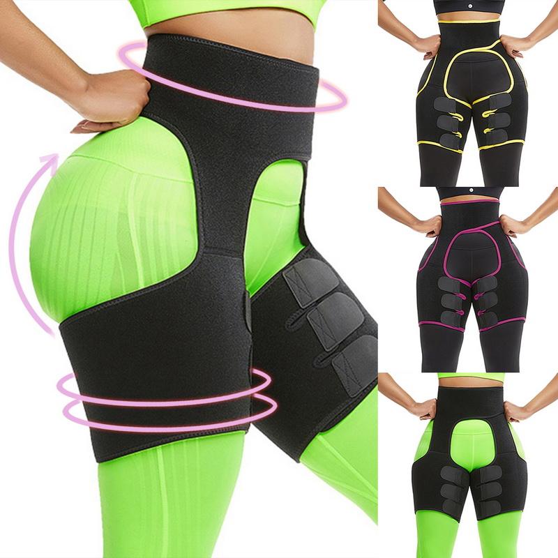 Thigh Waist High Waist Trimmer Exercise Wrap Belt Sauna Slimming Women Shaper US