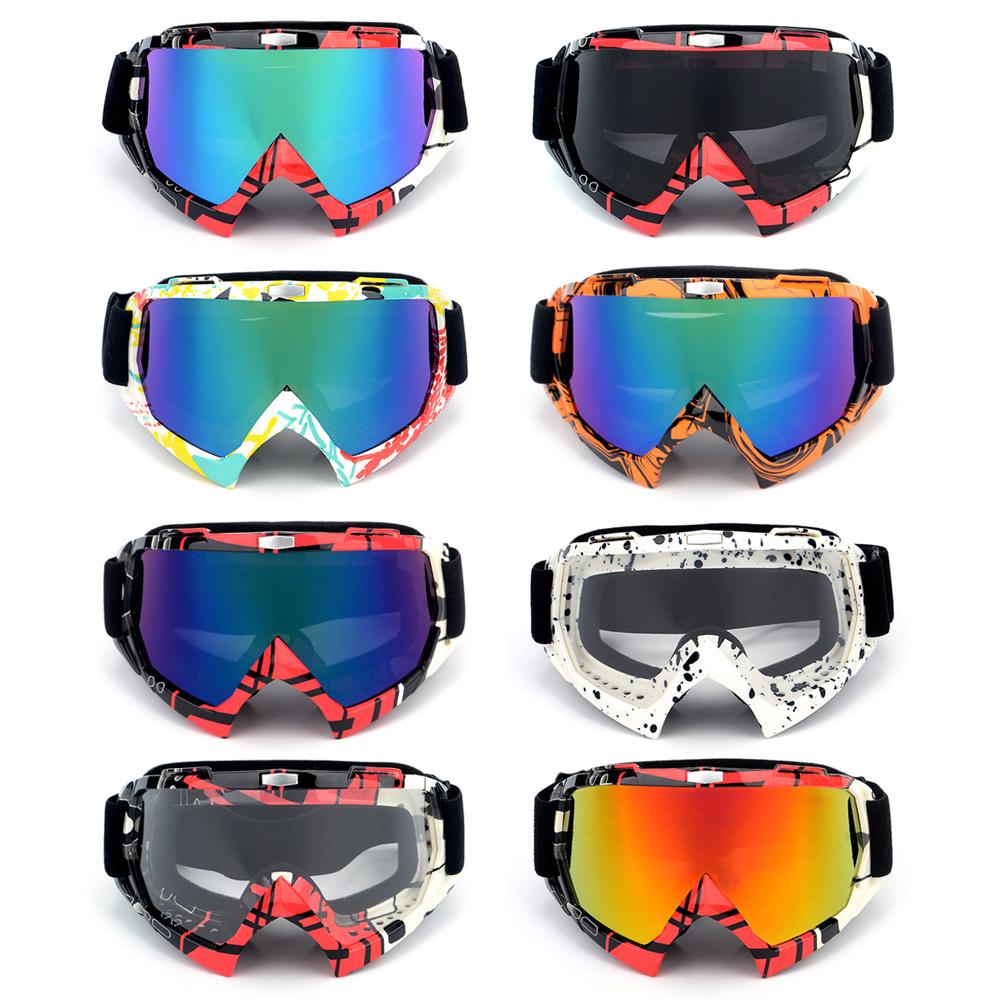 Adults Winter Snow Sports Goggles Snowmobile Ski Snowboard Skate Glasses Eyewear