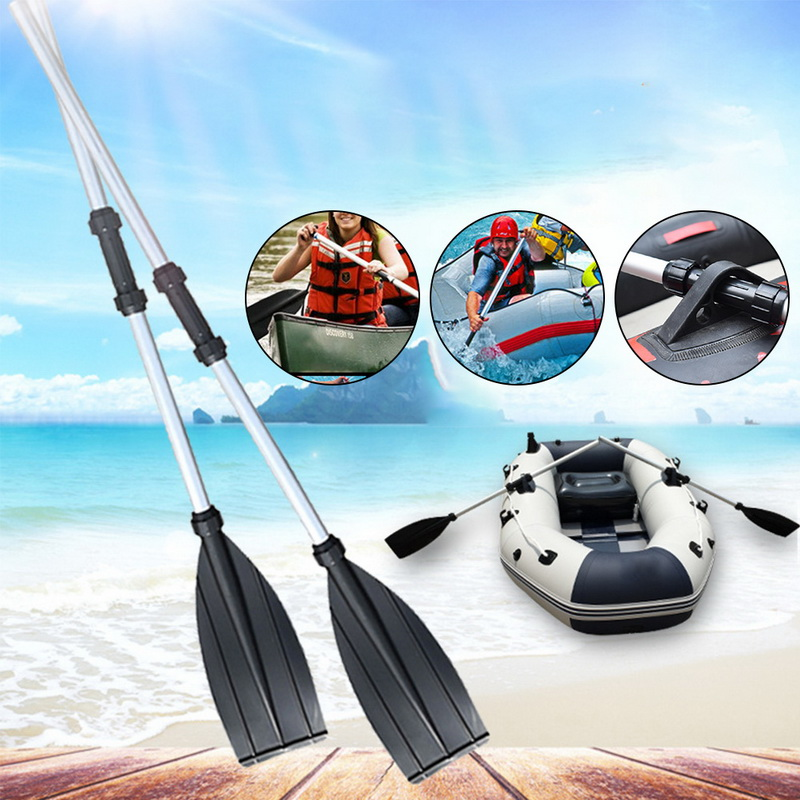 UK 203cm Durable Aluminium Kayak Paddles Lightweight Join Together Boat Oars