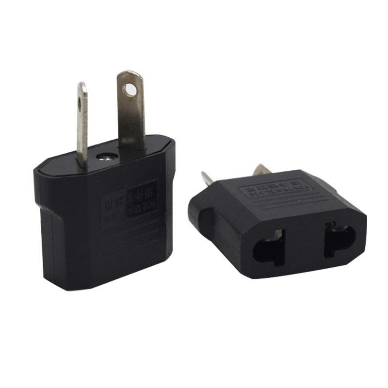United States AmericaEuropean Plug Adapter Power Converter Usa Us to EU Europe