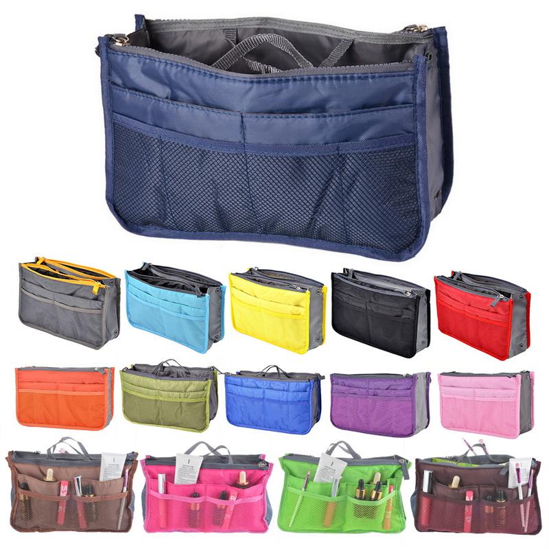 Insert Handbag Organiser Purse Liner Organizer Women Makeup Storage Bag Travel