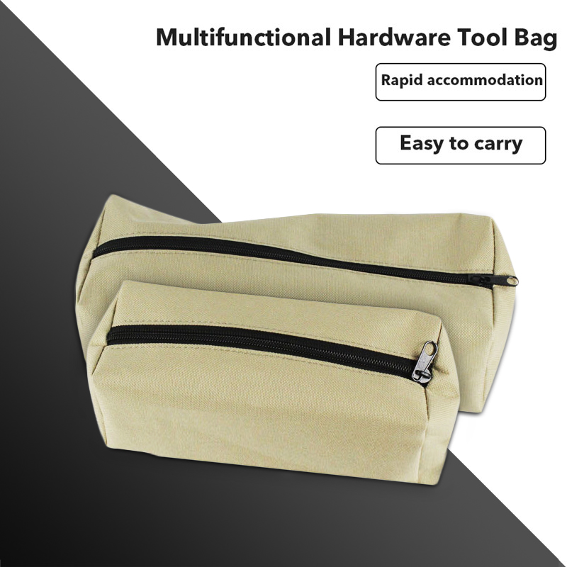 Zipper Tool Bag Pouch Organize Storage Small Parts Hand Tool Plumber Electrician