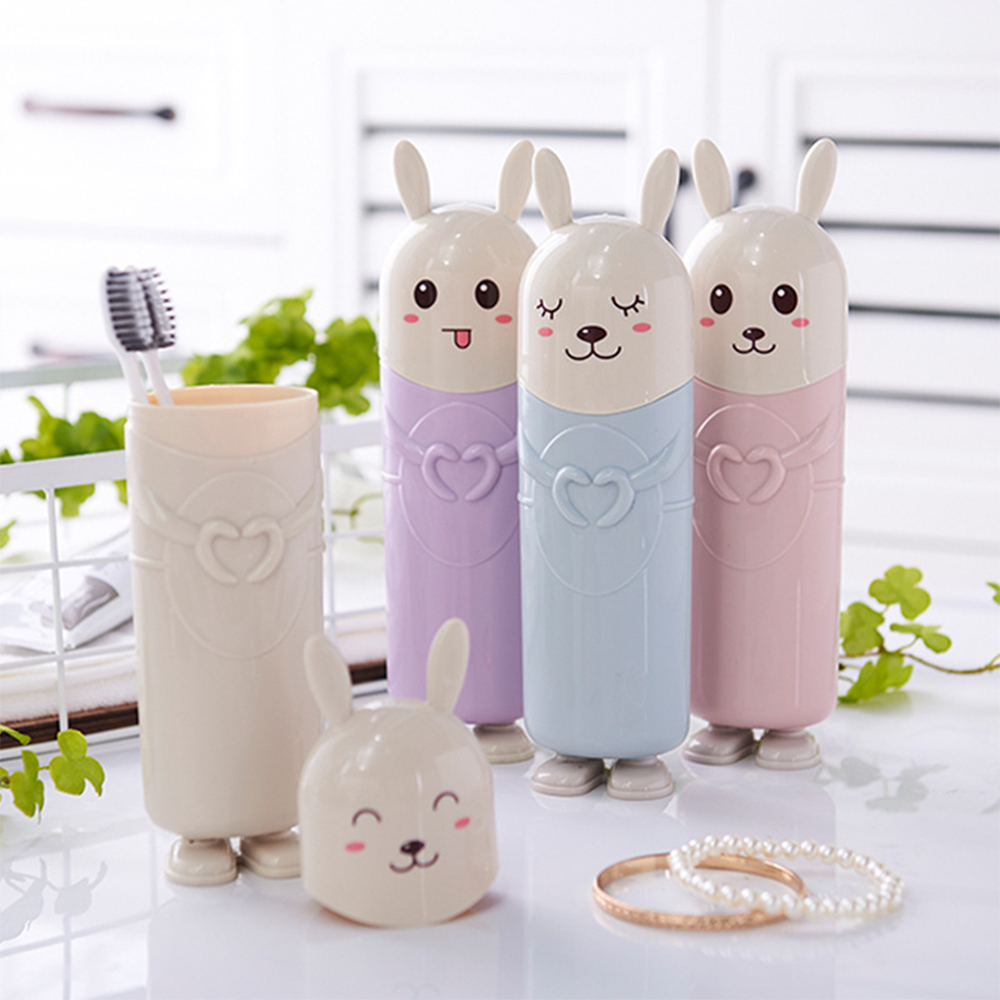 Travel Portable Toothbrush Holder Storage Box Cute Toothpaste Case Container New