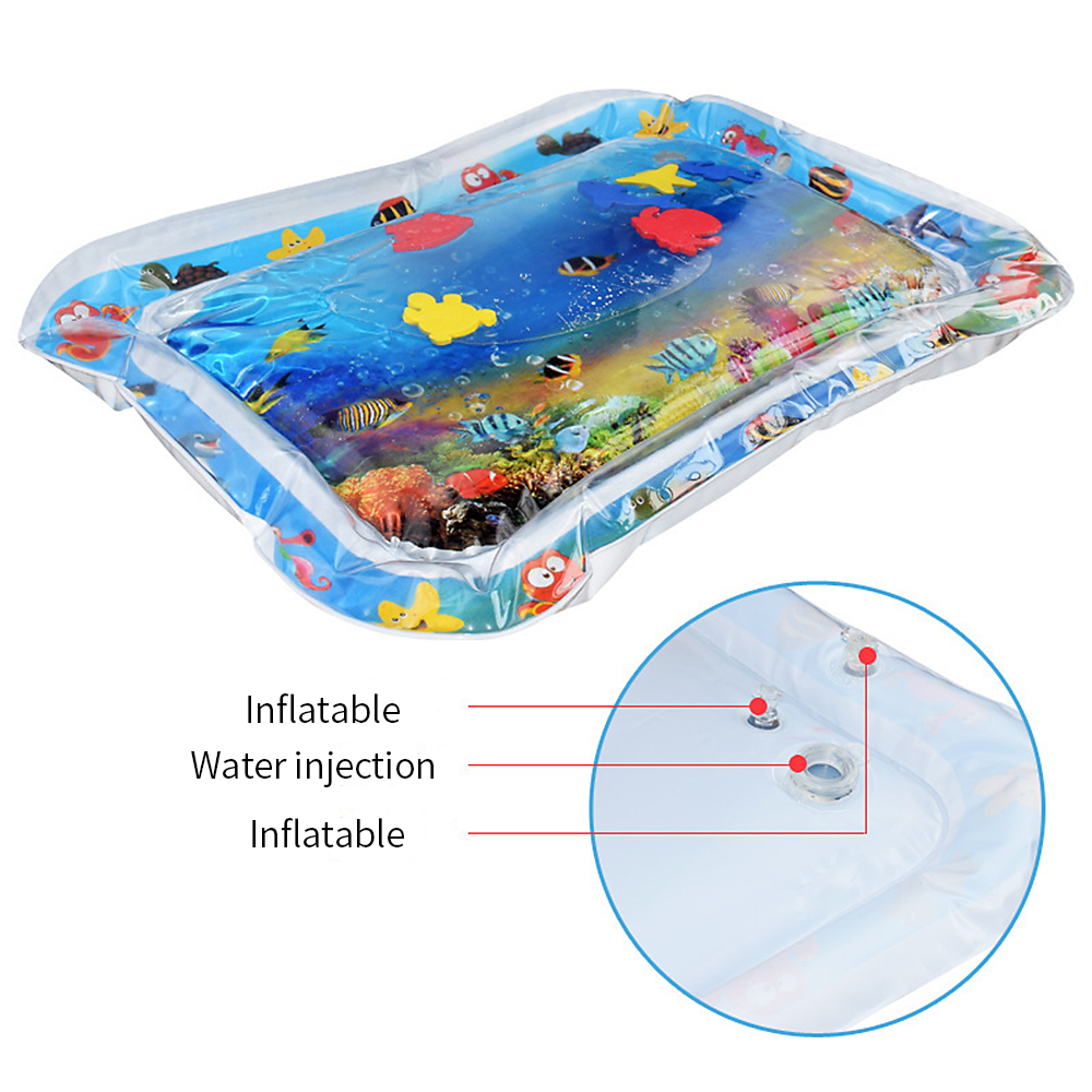 Water Mat For Baby Infant Toddlers Inflatable Mattress