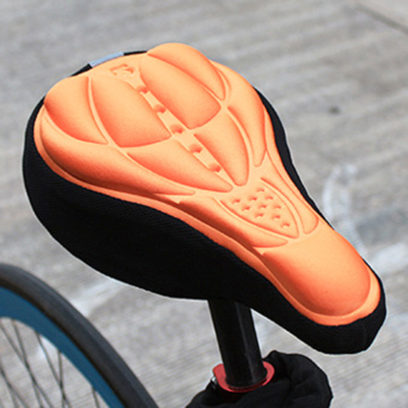 Cycling Bike Saddle Soft Cushion Bicycle Seat Cover Cover Breathable Riding V9I8