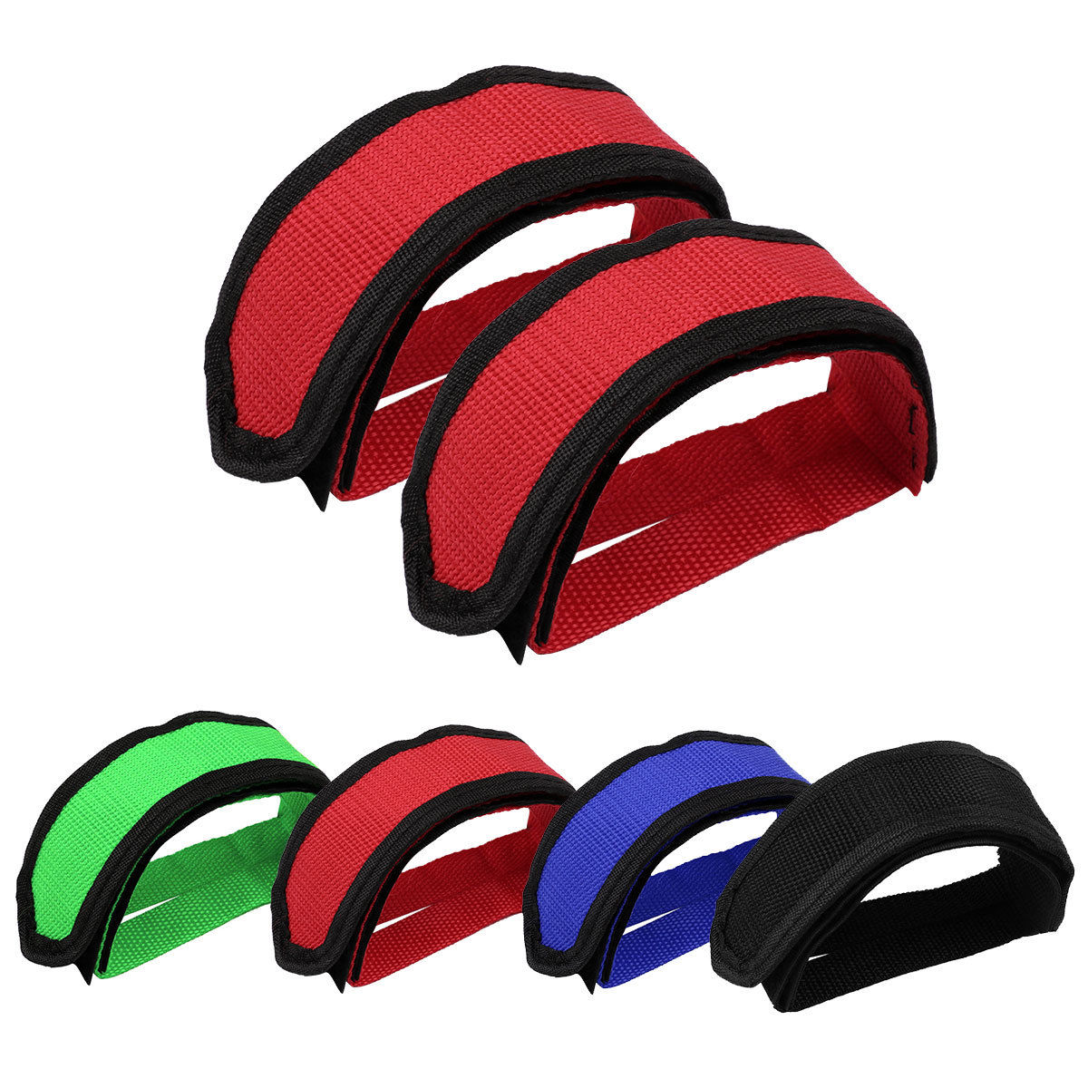 Fashion Bicycle Pedal Straps Toe Belt Nylon Foot Cycling Pedals Fixed Cover New