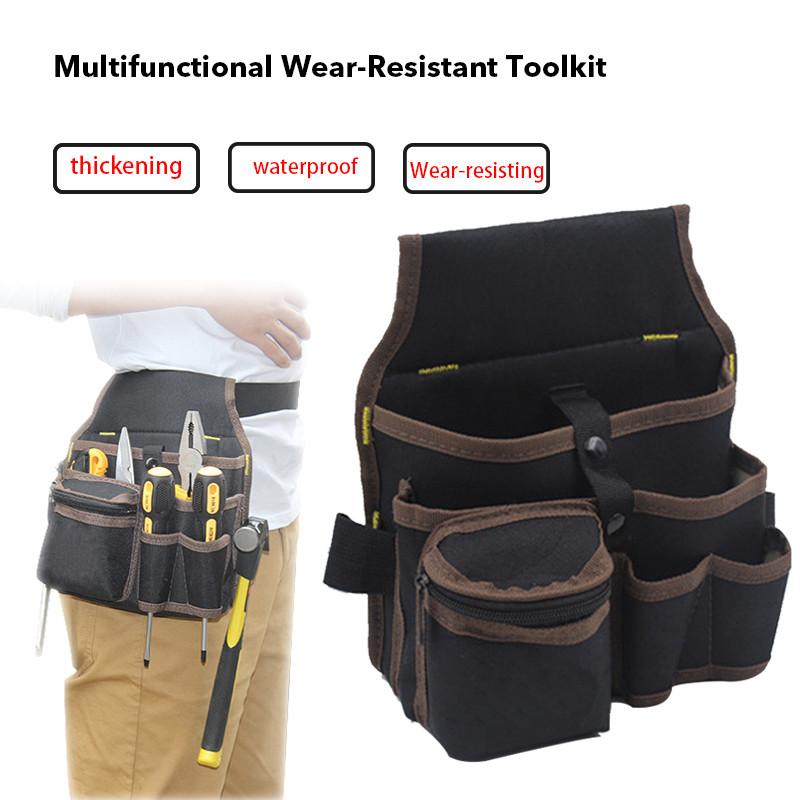 Electrician Storage Tool Bag Holder Pouch Multifunction Pocket Organize HighQ im