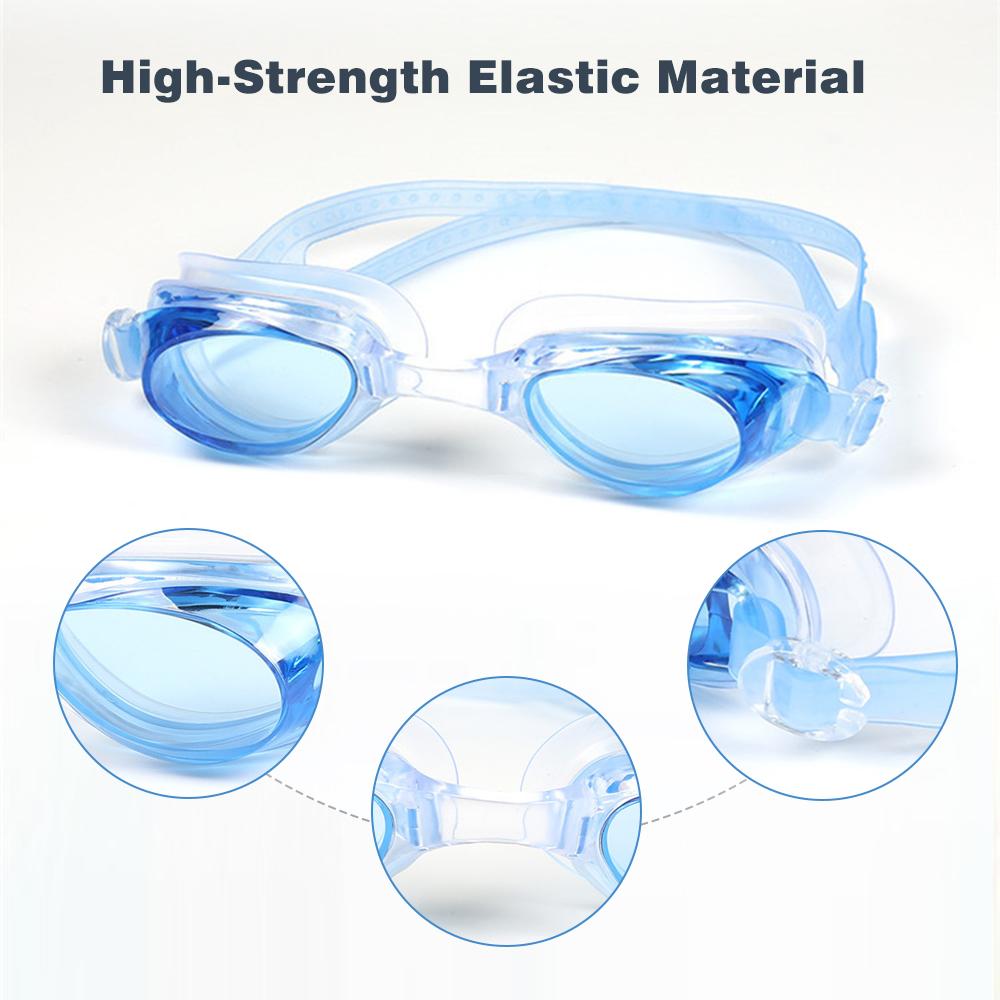 Herren Schwimmbrille Anti-Fog Wasserdichte  Schutzbrille für Männer Frauen K//S