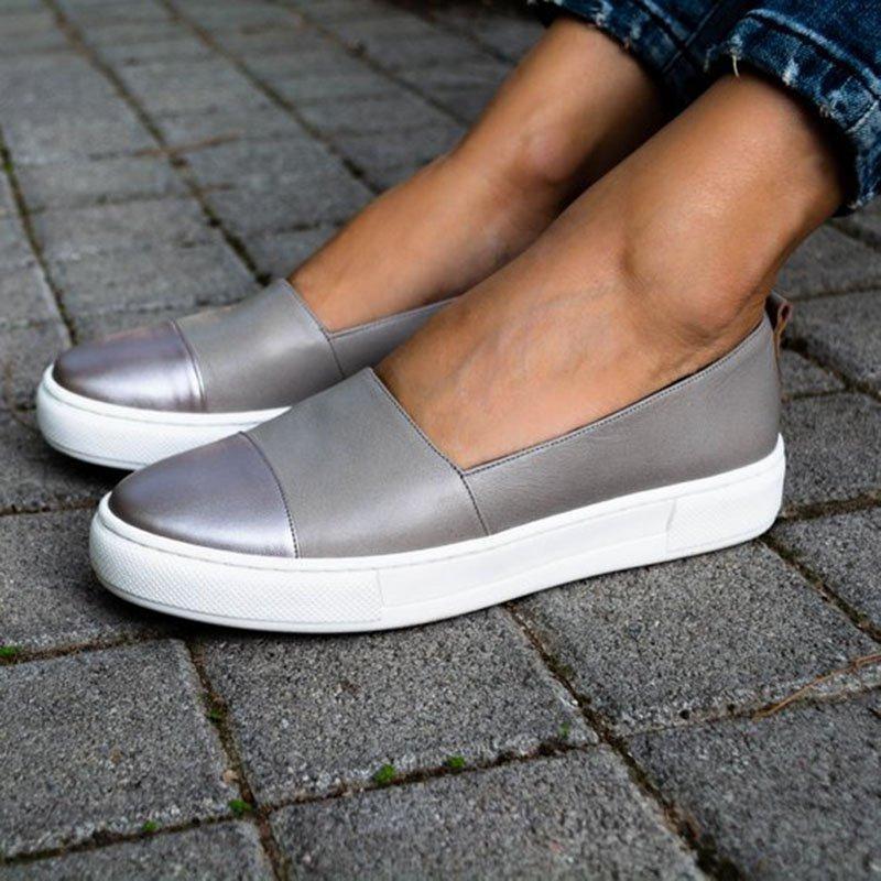 Damen  Schuhe Freizeitschuhe Ballerinas Sneaker flache Halbschuhe