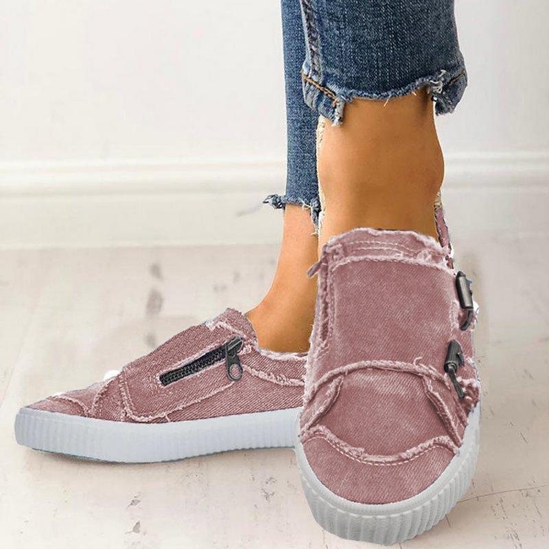 Details zu PD:Damen Flach Freizet Slipper Ballerinas Halbschuhe Sneaker Schuhe Espadrilles