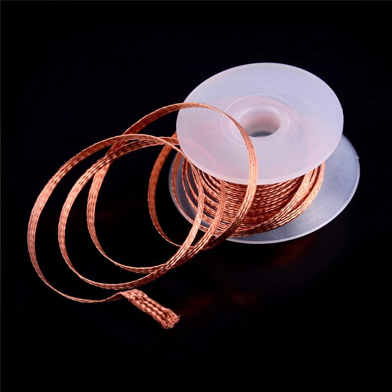 2.0 mm Desoldering Braid Solder Remover Pure Copper Wick Low Residue CA