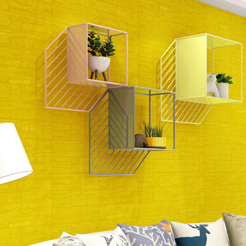 DIY 3D Brick PE Foam Wallpaper Panels Room Stone Decal