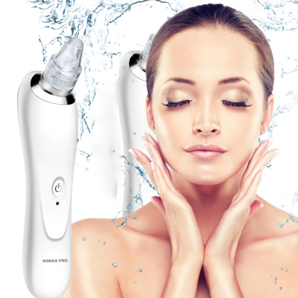 Details about US Deep Cleansing Electric Blackhead Remover Facial Pore  Vacuum Cleaner