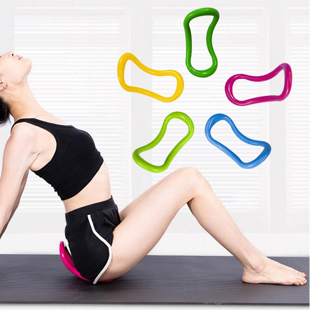 DE Pilates Ring Fitness Yoga Kreis Widerstandsring Gymnastik Übungswerkzeug DHL