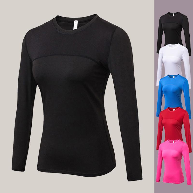 Quick Dry Women Long Sleeve Fitness Gym Running Yoga T-Shirt  Sport Top US