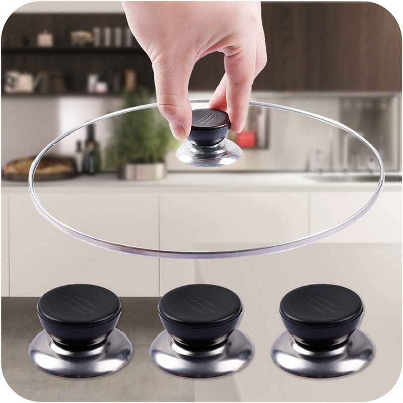 Replacement Knob Handle For Glass Lid Pot Pan Cover Hooding Cookware Kitchen 1X