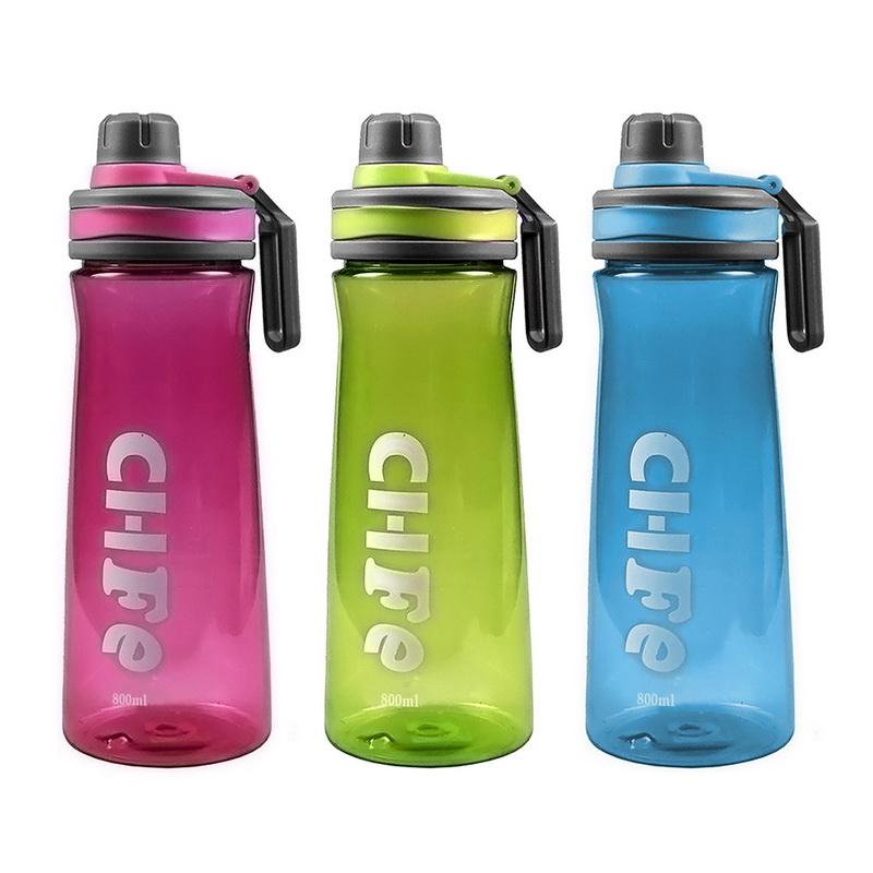 800ML Large Trinkflasche Wasserflasche Fitness Sportflasche Fahrradflasche P//D