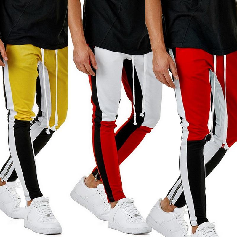 Hommes Pantalon De Rap Pantalons De Sport élastiques Pants