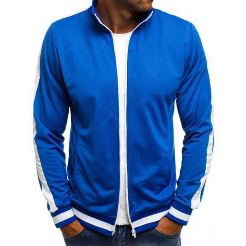 Mens Vogue Baseball Jacket Coat Casual Elastic  Solid Jackets Coats 50