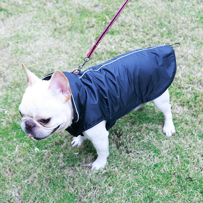 Fashion Pet Dog Winter Warm Sof Coat Jacket Hole