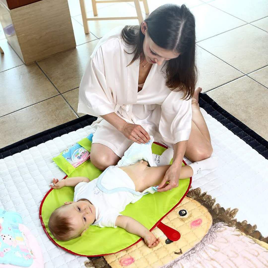 Baby Windel Windel Urin Mat Kid wasserdichte Bettwäsche Wickelauflage DE
