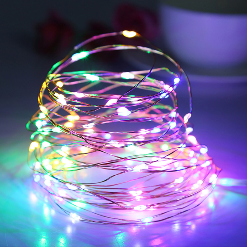 1 10m Usb Led Copper Wire String Party Decoration Us Fairy