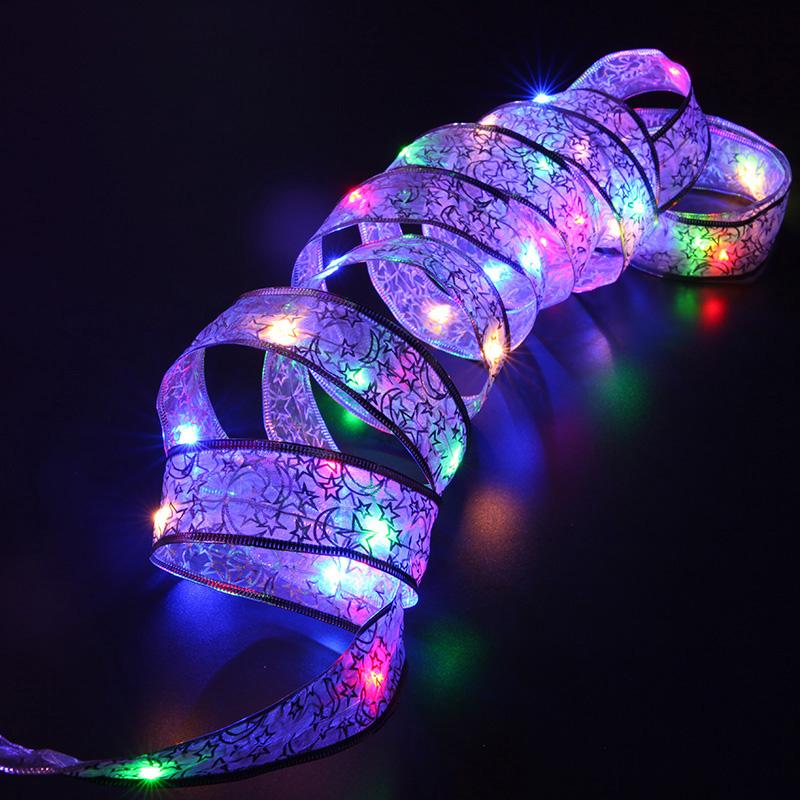 4m Led Christmas Light Battery Powered String Lights Home Garden