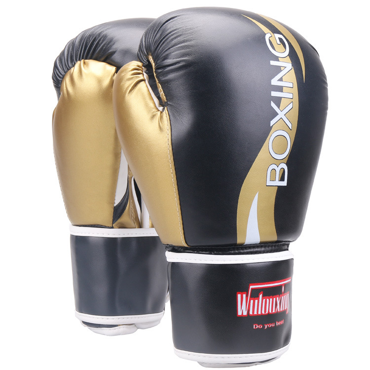 1*Sport Sanda Muay Thai Boxing Gloves  Martial Arts Training Strike Pads AL159