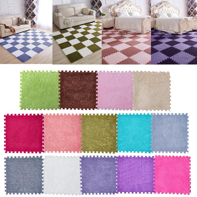 20PCS Baby Crawling Puzzle Mat Soft EVA Foam Kids Play Carpet Home Floor Blanket