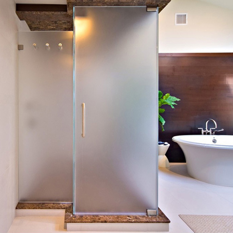 Nouveau porte fen tre film salle de bain maison autocollant verri re pvc givr ebay - Film salle de bain ...