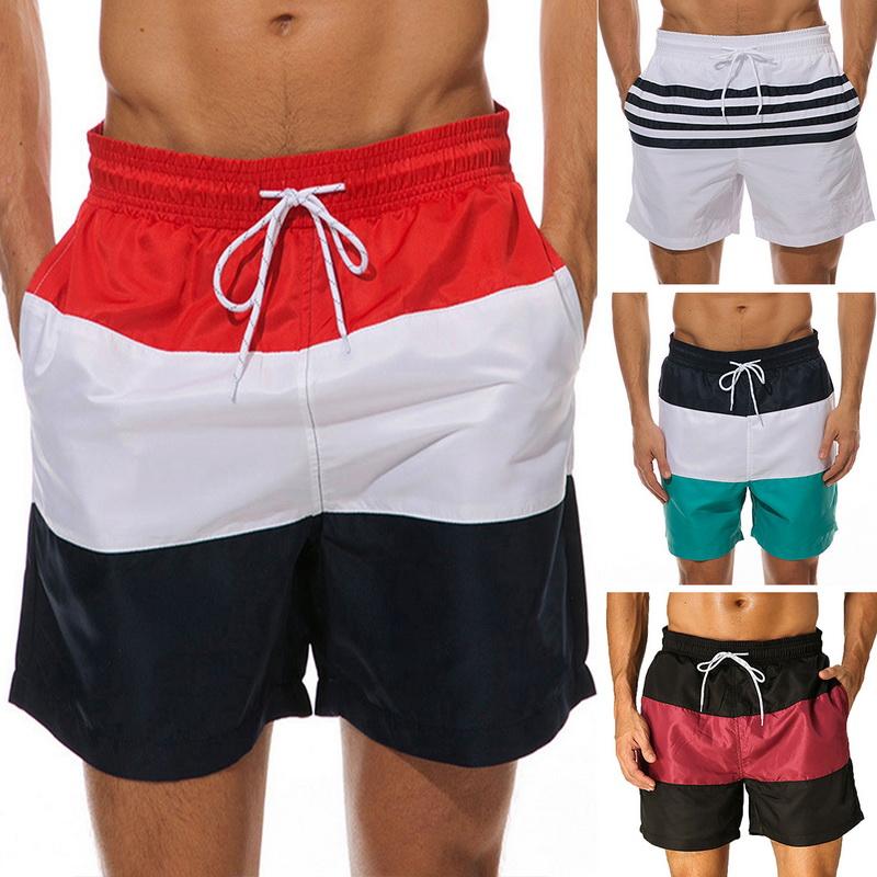 Crosshatch Pedro Men/'s Black Sport Swimwear Shorts Summer Pool Swimming Trunks
