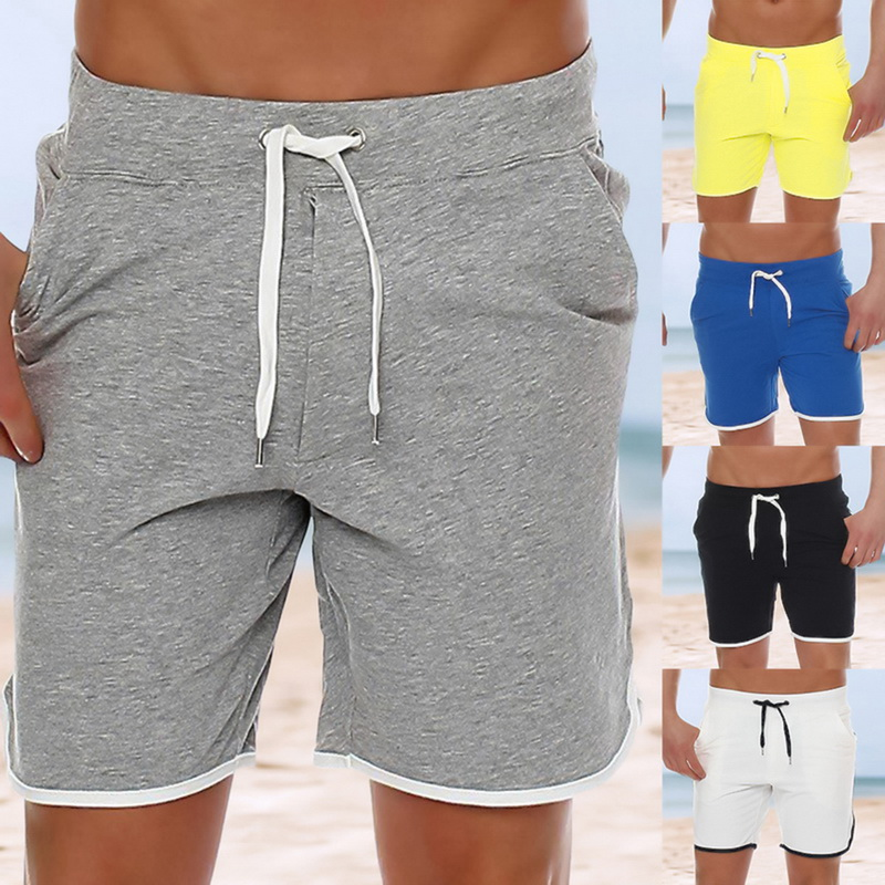 Mens Trunks Surfing Beach Board Shorts Party Quick Dry Drawstring Swim Shorts