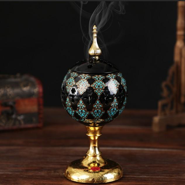 Arabian Incense burner Bakhoor Electric Metal Eid