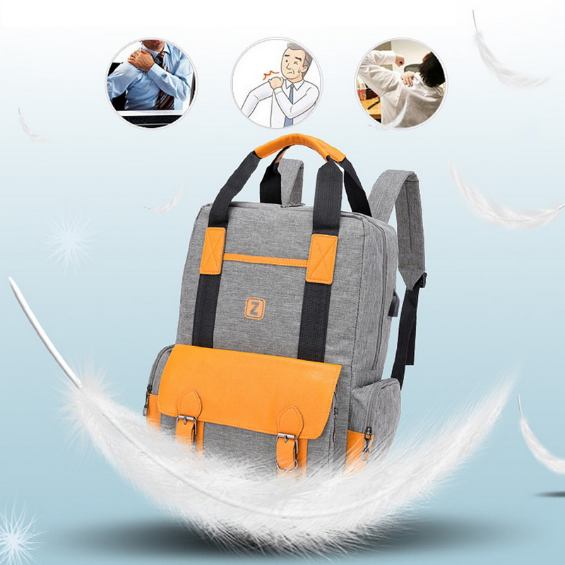 81e5f64fdfd1 Details about Outdoor Anti-Theft Laptop Backpack Travel Business School Bag  Rucksack USB 520