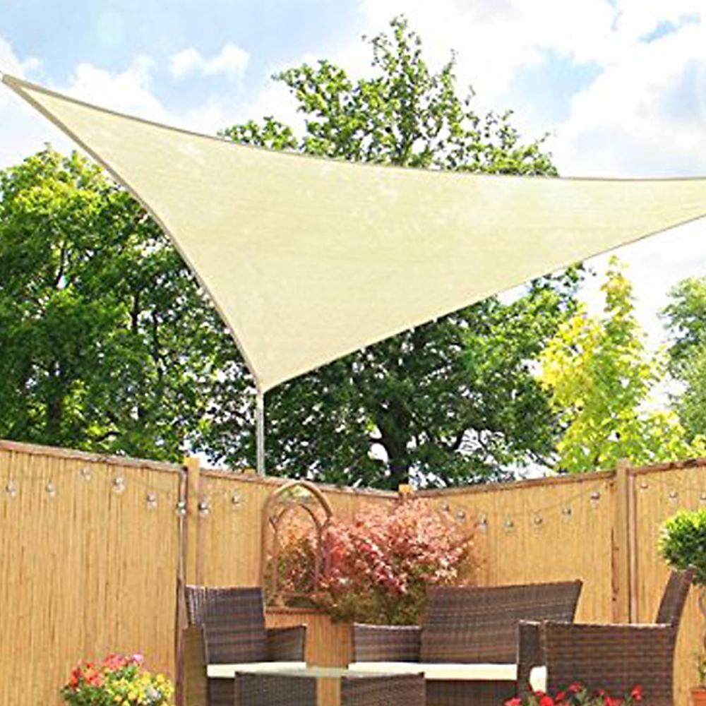 Voile D Ombrage 6 X 4 details about waterproof voile d'ombrage de soleil jardin anti uv écran  solaire triangle