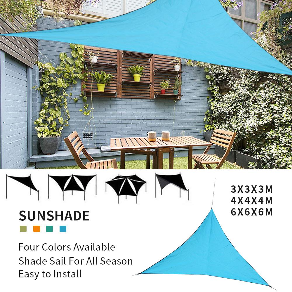 Voile D Ombrage Imperméable details about voile d'ombrage protection uv solaire imperméable tendue  parasol triangulaire